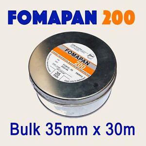 Fomapan 200 ~ Bulk Roll 35mm x 30 metres