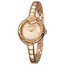Womens Wristwatch ROBERTO CAVALLI By Franck Muller RV1L010M0051 Steel Gold Rose