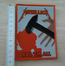 METALLICA woven Patch Kill Em All Megadeth Testament Exodus Anthrax Death Angel