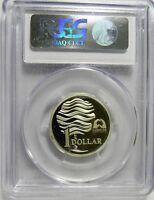 1993 LANDCARE SILVER PROOF PCGS PR69DCAM Coin