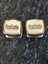 Scandinavia cufflinks (1/2in)