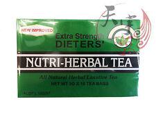 15pc Nutri-Leaf Dieters' Nutri Herbal Tea Bags Laxative Extra Strength Drink