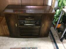 Nordmende Röhrenradio mit Plattenspieler, 3D Arabella, Altes Radio
