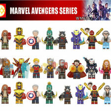 8pcs marvel avengers super heros minifigures  building blocks Fit Lego toy gift