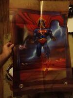 SUPERMAN #100 Centennial Edition dealer poster 1995 DC Comics *NEW & UNUSED