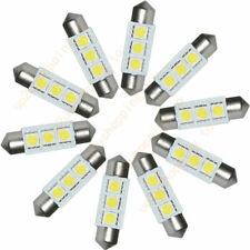 5X 36mm 12V 3 LED 5050 SMD Festoon Dome Car Light Interior Lamp Bulb White