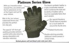 Schiek 540 Platinum Workout Lifting Gloves Wrist Wraps SMALL Strength Training