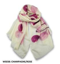 Ozwear UGG WS038 The Hand Painted Merino Wool Scarf 1830 X 640 mm New Gift