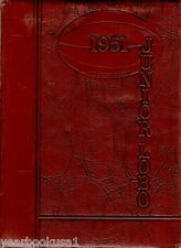 Levelland Junior High School Texas 1951 Junior Lobo Yearbook Annual Middle
