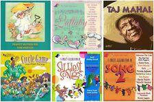 6 KIDS FOLK CD LOT Tom Paxton,Taj Mahal,Raffi,Buckwheat Zydeco,Kenny Loggins NEW