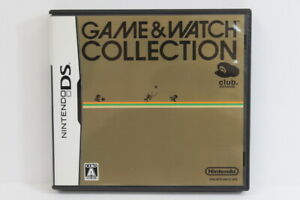 Game & Watch Collection Club Nintendo DS Japan Import US Seller DS035 RARE