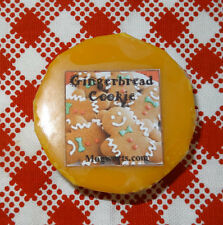 Gingerbread Cookie Wax Tart Melt, highly scented, Christmas, Halloween, Holidays