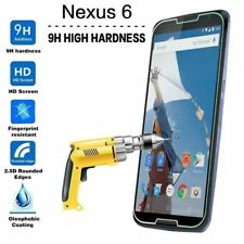 Premium Real Tempered Glass Screen Protector Cover for Google Nexus 6