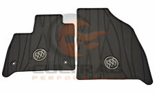 2018 2019 Buick Enclave Genuine GM Front All Weather Floor Mats Black 84162074