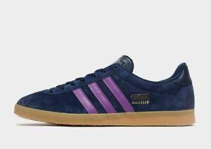 adidas Originals Gazelle Blue/Purple Men's Trainer Limited Stock