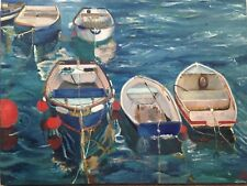 St.Ives Seascape Limited Edition A3 Print Of Original Oil Painting by AO Art