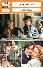FICHE CINEMA : LA SCARLATINE - Fossey,Audran,Aghion 1983 Scarlet Fever