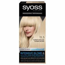 Syoss Professional Performance 13-5 Platinum Lightener Permanent Hair Dye Color