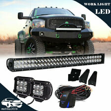"180W 30"" LED Light Bar w/ Bumper Bracket, Wirings For 03-18 Dodge RAM 2500 3500"
