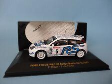 FORD FOCUS WRC 02 #5 - F.DUVAL - RALLY MONTE CARLO 2003 - RARE - 1/43 IXO RAM112