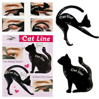 Makeup Guide Cat Eye Line Eyeshadow 2pcs/Set Cat Eyeliner Stencils Templates