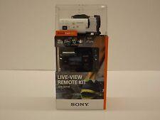 Sony HDR-AZ1VR Camcorder White Mini POV Action Cam w/ Live View Remote HDRAZ1VR