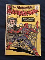 AMAZING SPIDER-MAN #25 (1965) KEY ISSUE: 1st Mary Jane, Around GD-