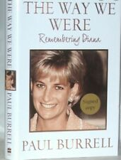 THE WAY WE WERE, REMEMBERING DIANA By Paul Burrell, Brand New!