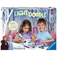 RAVENSBURGER Malset Light Doodle Frozen II Kreativset Malen & Stempeln mit Licht