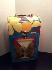 Wine Box Carrier Artister Gifts Cardboard holds 2 Bottles