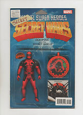 Deadpool's Secret Secret War #1 - Action Figure Variant - (Grade 9.2) 2015