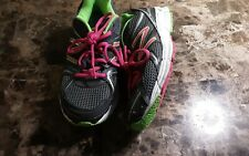 New Balance Running Shoes 490v2 Ladies Size 7 hot pink and green