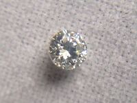 0.05 Ct Natural Earth Mined Round Cut VS2 Clarity F Color Rare Diamond Loose A+