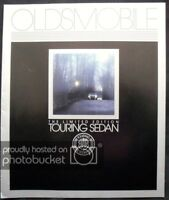 OLDSMOBILE TOURING SEDAN USA LF Car Sales Brochure 1987 Limited Edition