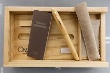 OMAS *Legni Pregiati* Precious Woods Limited Edition Fountain Pen 1996 – NOS