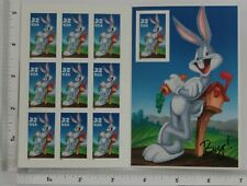 BUGS BUNNY POSTAGE STAMP - BOOK OF 10