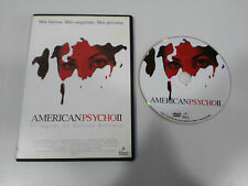 AMERICAN PSYCHO 2° IL LEGACY PATRICK BATEMAN - DVD SLIM SPAGNOLO ENGLISH