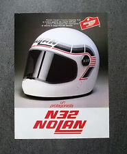 H792- Advertising Pubblicità -1981- CASCO NOLAN N 32 , UN PROTAGONISTA