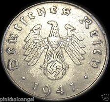 German Third Reich 1941J Reichspfennig Coin World War 2