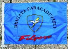"""Bandiera Commemorativa Stemma """"BRIGATA PARACADUTISTI FOLGORE"""" - (50X75) - Rarità"""