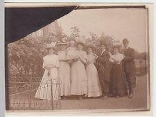 (F1479) Orig. Foto Hannover, Gruppe m. feinen Damen am Rathaus, 1920er