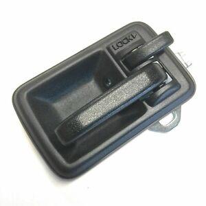 DOOR HANDLE & BEZEL PASSENGER SIDE BLACK FOR SAMURAI 85-93 ECs