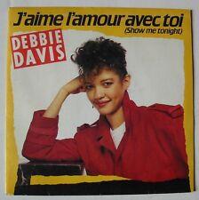 DEBBIE DAVIS (SP 45T) J'AIME L'AMOUR AVEC TOI