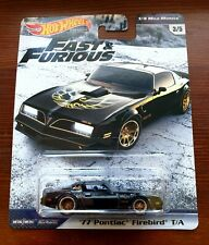 Hot Wheels '77 Pontiac Firebird T/A . Fast & Furious 1/4 Mile Muscle . selten