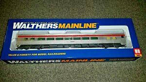 Walthers HO Scale 85' Budd Southern Pacific Large Window Coach NIB