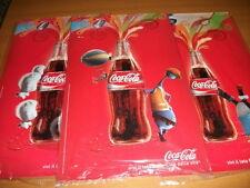 3 insegne in lamiera Coca Cola  cm. 30x50 - soggetti diversi