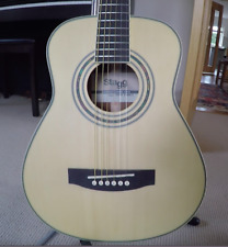 More details for stagg parlour 3/4 acoustic guitar travel / ed sheeran style  very good condition