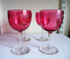 Britain Cranberry Date-Lined Glass