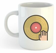 Geek Mug - Vinyl Record Hand