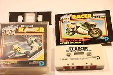 Suzuki Tt Racer Spectrum 48K 128K por juego arcade integración digital () 1988